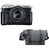 CANON EOS M6 Mirrorless Camera, 18-150 mm f/3.5-6.3 Lens & Bag Bundle