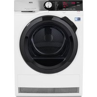 AEG AbsoluteCare T8DSC949R Heat Pump Tumble Dryer - White, White