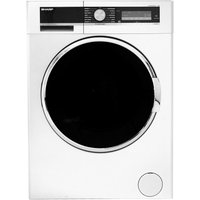 SHARP ES-GFD814QW3 Washing Machine - White, White