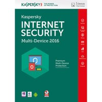 KASPERSKY Internet Security 2016 Multi Device (5 Devices, 1 Year)