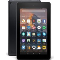 AMAZON Fire 7 Tablet with Alexa (2017) - 8 GB, Black, Black