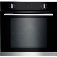 RANGEMASTER RMB608BL/SS Electric Oven - Black & Stainless Steel, Stainless Steel