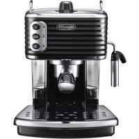 DELONGHI Scultura ECZ351BK Coffee Machine - Black, Black