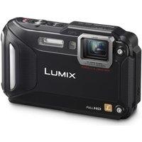 PANASONIC Lumix DMC-FT5 Tough Compact Camera - Black, Black