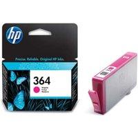 HP 364 Magenta Ink Cartridge, Magenta