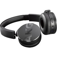 AKG Y50BT Wireless Bluetooth Headphones - Black, Black