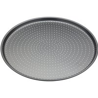 MASTER CLASS Crusty Bake Non-stick Pizza Tray - Stainless Steel, Stainless Steel