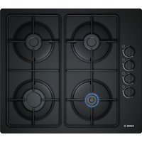 BOSCH POP6B6B80 Gas Hob - Black, Black