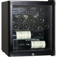 ESSENTIALS CWC15B14 Wine Cooler - Black, Black