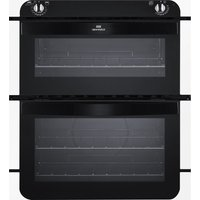 NEW WLD NW701DO Electric Built-under Double Oven - White & Black, White