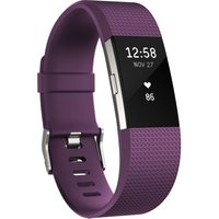 FITBIT Charge 2 Classic Accessory Band - Plum, Small, Plum