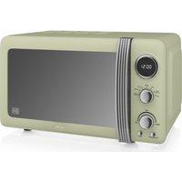 SWAN Retro SM22030GN Solo Microwave - Green, Green