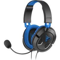 TURTLEBEACH Ear Force Recon 60P Gaming Headset - Black & Blue, Black