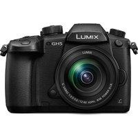 PANASONIC Lumix DC-GH5MEB-K Compact System Camera with 12-60 mm f/3.5-5.6 Zoom Lens - Black, Black