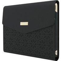 KATE SPADE New York Leather iPad mini 4 Envelope Folio Case - Black, Black