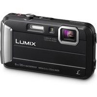 PANASONIC Lumix DMC-FT30EB-K Tough Compact Camera - Black, Black