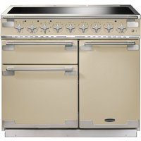 RANGEMASTER  Elise 100 Electric Induction Range Cooker   Cream   Chrome  Cream