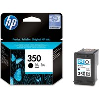 HP 350 Black Ink Cartridge, Black