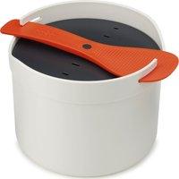 JOSEPH JOSEPH M-Cuisine Microwave Rice Cooker - Stone & Orange, Stone