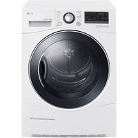 LG  RC8055AH3M Heat Pump Tumble Dryer - White, White
