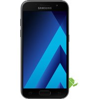 SAMSUNG Galaxy A3 (2017) - 16 GB, Black, Black