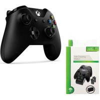MICROSOFT Xbox One Wireless Gamepad & VS2851 Xbox One Twin Docking Station Bundle