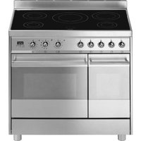 SMEG C921IPXB 90 cm Electric Induction Range Cooker - Stainless Steel, Stainless Steel