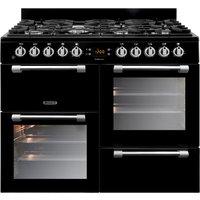 LEISURE Cookmaster 100 Gas Range Cooker - Black, Black