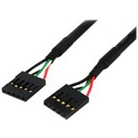 StarTech.com 24in Internal 5 pin USB IDC Motherboard Header Cable F/F - USB cable - 60.7 cm