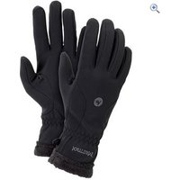 Marmot Fuzzy Wuzzy Womens Glove - Size: L - Colour: Black