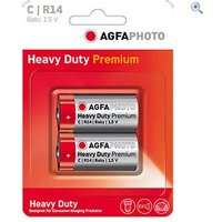 AgfaPhoto Zinc Carbon C Batteries (2 pack)