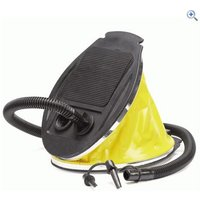 Hi Gear 5L Bellows Foot Pump - Colour: Yellow- Black