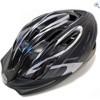 Raleigh Infusion Cycling Helmet (Black/Silver) - Size: M - Colour: Black / Silver