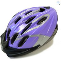 Raleigh Infusion Cycling Helmet (Purple/Silver) - Size: L - Colour: PURPLE SILVER