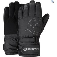 Sprayway Junior HD Glove - Size: 4-7 - Colour: Black