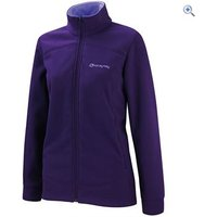 Sprayway Aurora Womens Fleece Jacket - Size: 8 - Colour: DARK VELVET