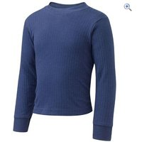 Hi Gear Childrens Thermal Baselayer Long Sleeved Top - Size: 13 - Colour: Navy