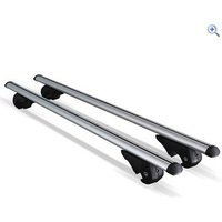 Streetwize Aluminium Anti-Theft Lockable Universal Roof Bars - Colour: Silver