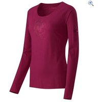 Mammut Birdy Long Sleeve Top - Size: M - Colour: Scarlet