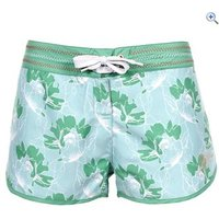Trespass Kokee Womens Reversible Beach Shorts - Size: XS - Colour: ALGAE