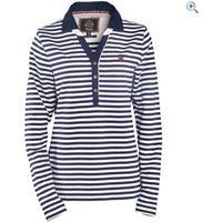 Toggi Dayton Classic Stripe Long Sleeved Top - Size: 8 - Colour: NAVY STRIPE