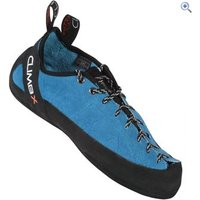 Climb X Crux Climbing Shoes - Size: 8 - Colour: Blue