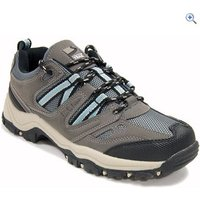 Freedom Trail Lowland Womens Walking Shoes - Size: 8 - Colour: GREY-LIGHT BLUE