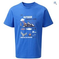 Hi Gear Nelson Boys Tee - Size: 13 - Colour: Blue