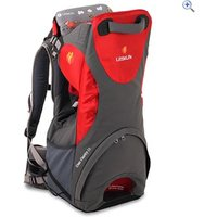 LittleLife Cross Country S3 Child Carrier - Colour: RED-DKGREY