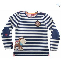 Toggi Goldie Girls Long Sleeve Top - Size: 11-12 - Colour: Navy
