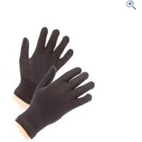 Shires Childrens SureGrip Gloves - Colour: Black