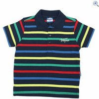 Trespass Grover Boys Polo - Size: 5-6 - Colour: NAVY TONE
