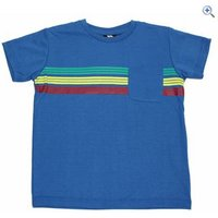 Trespass Jackline Boys T-Shirt - Size: 11-12 - Colour: ULTRAMARINE