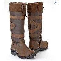 Toggi Canyon Riding Boots - Size: 38 - Colour: Chocolate Brown
